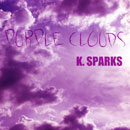K. Sparks ft. Jayvine - Purple Clouds Artwork