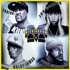 Kuniva (of D12) ft. Jon Connor, Boldy James & Guilty Simpson - Michiganish Artwork