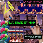 L.atasha A.lcindor - LA State of Mind Artwork
