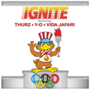 L.A.U.S.D. ft. U-N-I & Vida Jafari - Ignite Artwork