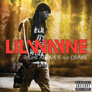 Lil Wayne ft. Drake - Right Above It Artwork