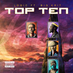 Logic - Top 10 ft. Big K.R.I.T. Artwork