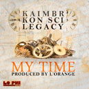 L&#8217;Orange ft. Kaimbr, Kon Sci &amp; Legacy - My Time Artwork