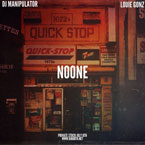 Louie Gonz x DJ Manipulator - No One Artwork