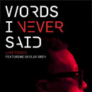 Lupe Fiasco ft. Skylar Grey - Words I Never Said Artwork