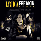 Lyrica Anderson ft. Wiz Khalifa & Eric Bellinger - Freakin' (Remix) Artwork