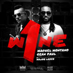 Machel Montano x Sean Paul ft. Major Lazer - One Wine Artwork