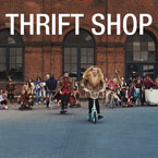 Macklemore x Ryan Lewis ft. Wanz - Thrift Shop Artwork