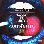 Maejor Ali ft. Juicy J & Justin Bieber - Lolly Artwork