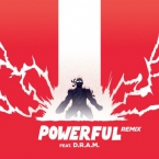 Major Lazer - Powerful (Remix) ft. D.R.A.M., Ellie Goulding & Tarrus Riley Artwork