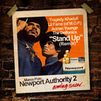 Marco Polo ft. Tragedy, Lil Fame (of. M.O.P.), Adrian Younge & The Delfonics - Stand Up (Remix) Artwork