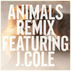 Maroon 5 ft. J. Cole - Animals (Remix) Artwork