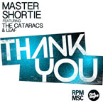 Master Shortie ft. The Cataracs &amp; Leaf - Thank You Artwork