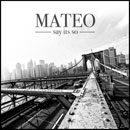 Mateo ft. Alicia Keys - Say It's So Artwork
