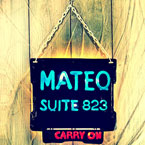 Mateo - Carry On Artwork
