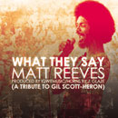 Matt Reeves - What They Say Artwork