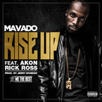 Mavado ft. Akon & Rick Ross - Rise Up Artwork