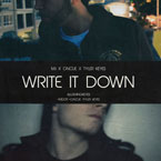 M.I ft. OnCue - Write It Down Artwork