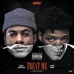 Mick Jenkins x Supa Bwe - Treat Me Artwork