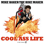 Mike Baker the Bike Maker - Runnin' In Place ft. Spree Wilson Artwork