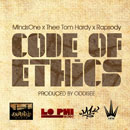 MindsOne ft. Thee Tom Hardy &amp; Rapsody - Code of Ethics Artwork