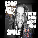 Mod Sun ft. Cisco Adler - Stop Everything You&#8217;re Doin Right Now &amp; Smile Artwork