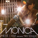 Monica ft. Trey Songz - Here I Am (Remix) Artwork
