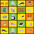 Mr. Lif - Post Mortem ft. El-P, Jean Grae & Akrobatik Artwork