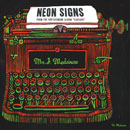 Mr. J. Medeiros ft. Stro - Neon Signs Artwork