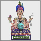 Neon Hitch - Warner Blvd. Artwork