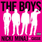 Nicki Minaj ft. Cassie - The Boys Artwork