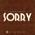 NIQUE - Sorry Artwork