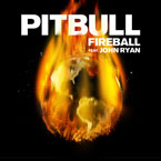 Pitbull - Fireball Artwork