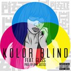 Pizzle ft. Gliss - Kolor Blind Artwork