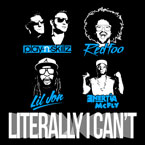 Play-N-Skillz ft. RedFood, Lil Jon & Enertia McFly - Literally I Can't Artwork
