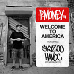P-Money ft. Skyzoo & Havoc (of Mobb Deep) - Welcome to America Artwork