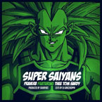 Praverb x Thee Tom Hardy - Super Saiyans Artwork