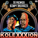 DJ Premier &amp; Bumpy Knuckles ft. Nas - Turn up the Mic (Remix) Artwork