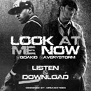 Q Da Kid ft. Avery Storm - Look at Me Now Artwork