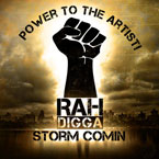 Rah Digga ft. Chuck D. - Storm Comin' Artwork