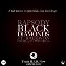Rapsody ft. Raekwon - Black Diamonds Artwork