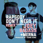 Rapsody - Don't Need It (Remix) ft. Joey Bada$$ & Merna Artwork
