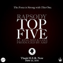 Rapsody ft. King Mez & Laws - Top Five Artwork