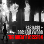 Ras Kass x Doc Hollywood - The Great Recession Artwork