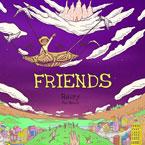 Raury - Friends ft. Tom Morello Artwork