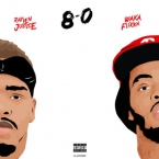 Rayven Justice - 8 N 0 ft. Waka Flocka Flame Artwork