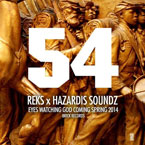 REKS x Hazardis Soundz - 54 Artwork
