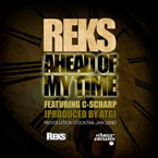 REKS ft. C-Scharp - Ahead Of My Time Artwork