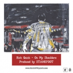 Rich Quick - On My Shoulderz Artwork
