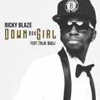 Ricky Blaze ft. Talib Kweli - Down Ass Girl Artwork